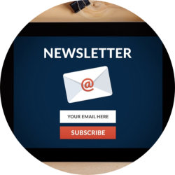 newsletter in ipad
